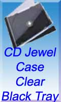 Black Jewel case with tray
