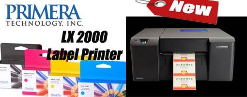 New Label printer from primera