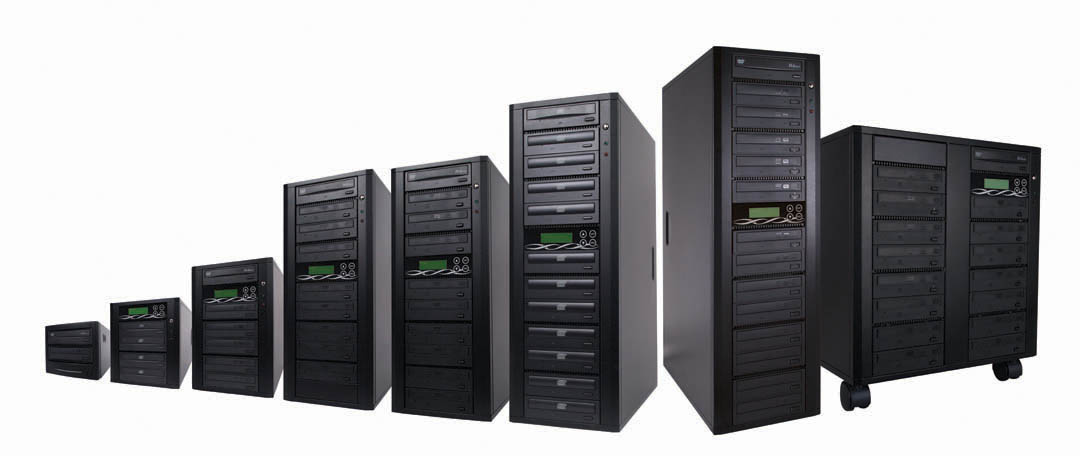 Pioneer DVR-115D 16x DVD+/-R, 52x CD-R Automatic Duplicator Towers