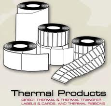 Thermal Inkjet copier shipping and address labels