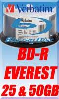 Verbatim BDR 50 & 25 GB